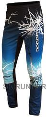 Лыжные брюки Noname ClubLine Elite Softshell Print Blue мужские