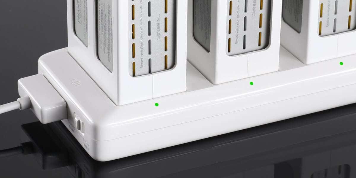 Концентратор хаб для заряда батарей DJI Phantom 4 (Part8) зарядка батарей