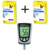 2 упаковки тест-полосок Фристайл Оптиум № 100 и глюкометр Фристайл Оптиум