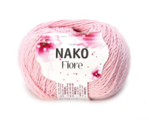Пряжа Nako Fiore светло-розовый 11242