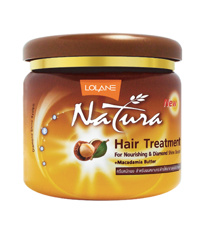 Lolane Маска для волос Макадамия Natura Hair Treatment Macadamia Butter, 100 мл