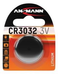 Батарейка литиевая CR3032 ANSMANN 3V