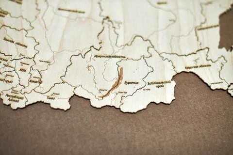 близкое фото малой карты