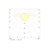 Диаграмма светораспределения для универсального светодиодного аварийного светильника EuroCompleta LED