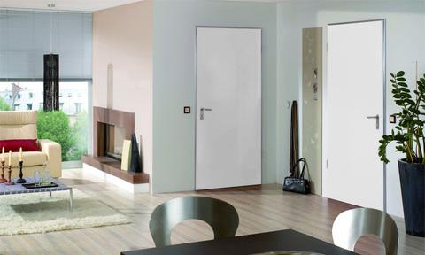 Дверь внутренняя Hormann ZK, RAL 9016, левая, угловая коробка