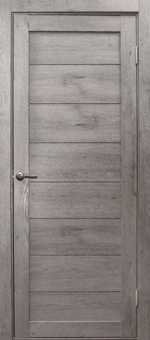 Дверь Эколайт Дорс Глухое, цвет дуб дымчатый, глухая