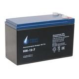 Аккумулятор Парус Электро HM-12-7  ( 12V 7Ah / 12В 7Ач ) - фотография