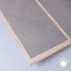 Бумага упаковочная бежевая с полосой 60*60см