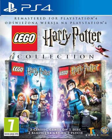 Sony PS4 LEGO Harry Potter: Collection (английская версия)