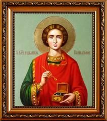 Пантелеймон Святой Целитель. Икона на холсте.