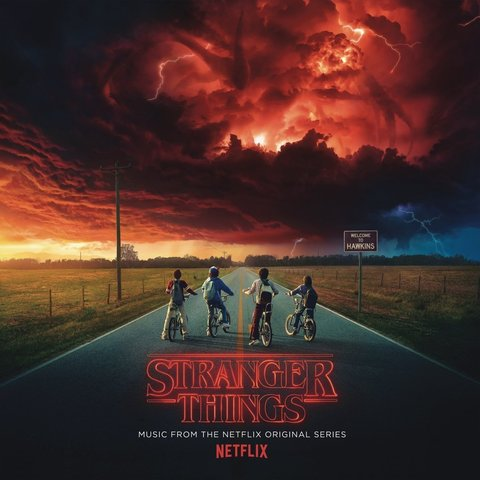 Виниловая пластинка. Stranger Things: Music from the Netflix Original Series
