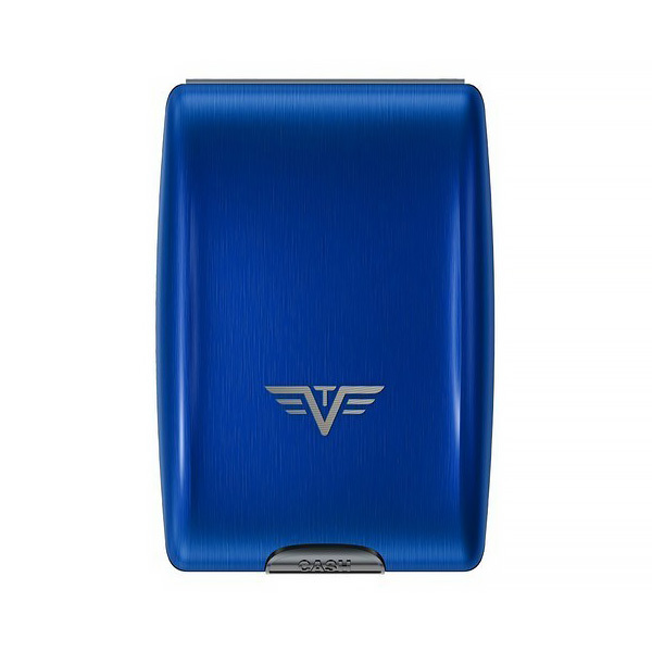 Кошелек c защитой Tru Virtu OYSTER, цвет светло-синий , 102*70*27 мм