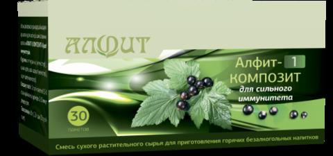 Фитосбор АЛФИТ-1 КОМПОЗИТ для сильного иммунитета, 30ф/п*2г