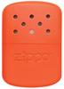 кремень zippo 6 шт 2406n Каталитическая грелка ZIPPO Blaze Orange сталь оранжевая, на 12 ч, 66x13x99 мм (40378)