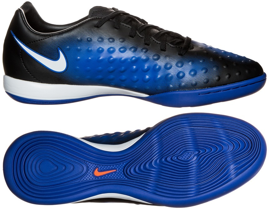 Бутсы для зала NIKE MAGISTA ONDA II IC 84413-015 цвет синий c9ffc075da0