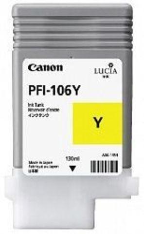Картридж Canon PFI-106Y yellow (желтый) для imagePROGRAF 6300/6350/6400/6450
