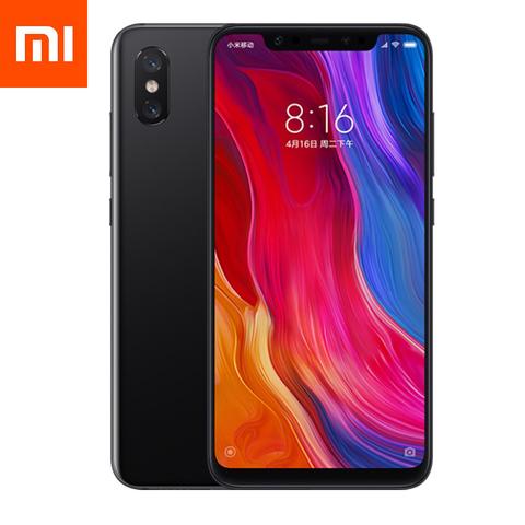 Смартфон Xiaomi Mi 8 6 / 256GB (черный)