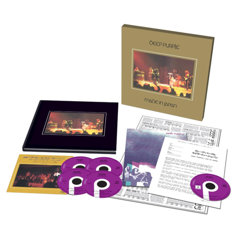 Deep Purple / Made In Japan (Super Deluxe Edition)(4CD+DVD+7