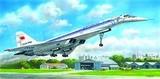 Советский сверхзвуковой пассажирский самолет Ту-144Д 1:144