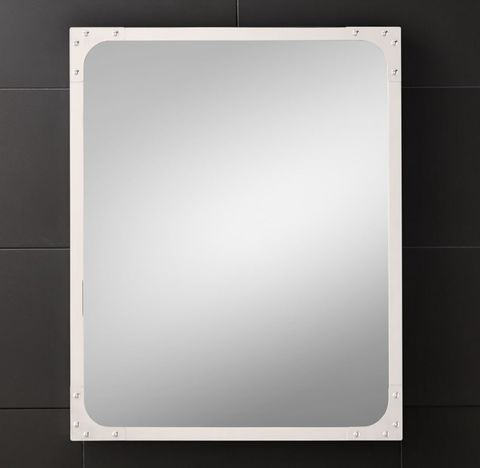Industrial Rivet Pivot Mirror