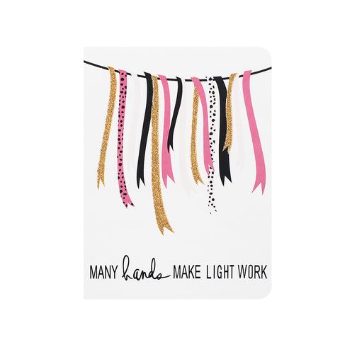 Открытка Love Light Work