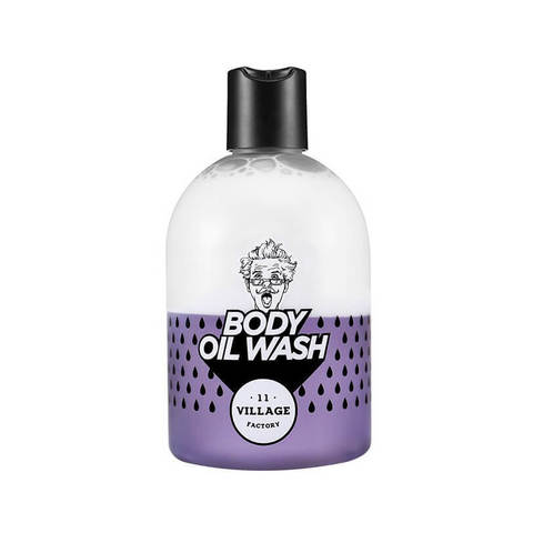 VILLAGE 11 FACTORY Двухфазный гель масло для душа с ароматом пачули Relax Day Body Oil Wash Violet