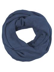 V2505-A88 шарф-труба, темно-синий