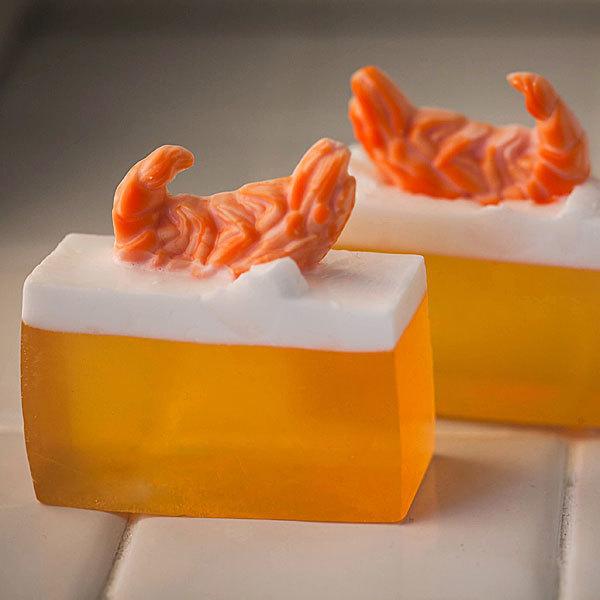 Форма для мыловарения Креветки