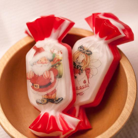 Мыло ручной работы в форме конфет