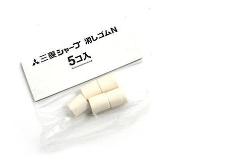 Сменные ластики Uni N (5 шт)