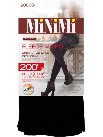 Колготки Fleece Micro 200 Minimi