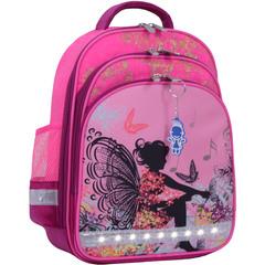 Рюкзак школьный Bagland Mouse 143 малиновый 389 (0051370)