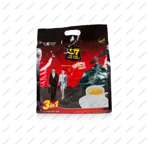 Вьетнамский растворимый кофе G7 3 в 1, Original, 50 пак.