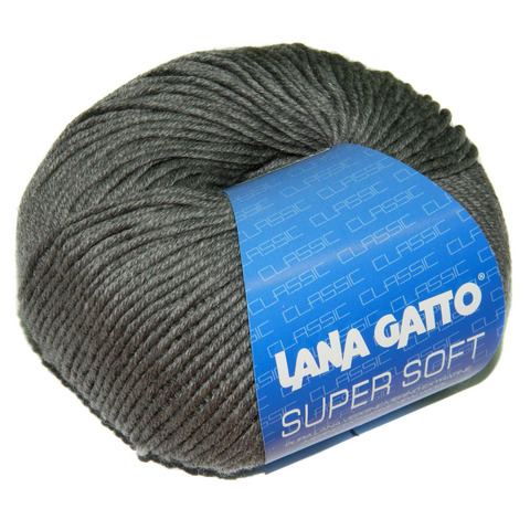 Пряжа Lana Gatto Supersoft 20742 серый