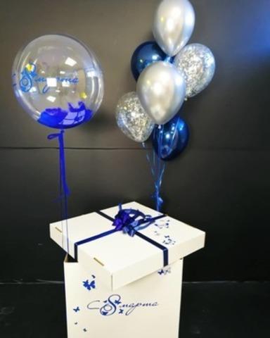 Коробка сюрприз с 8 марта