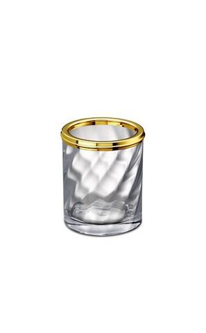 Стакан большой 91804O Salomonic Spiral Gold от Windisch