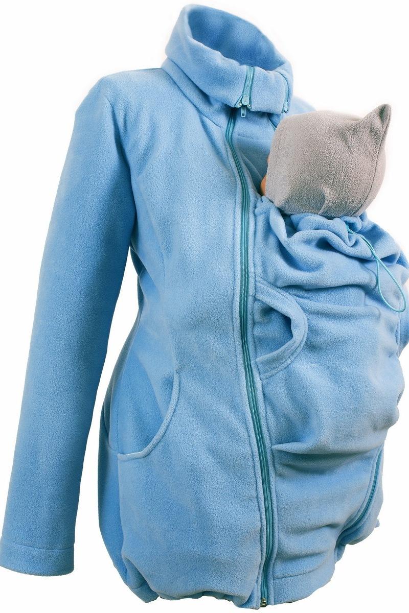 Слингокуртка 00901 голубой