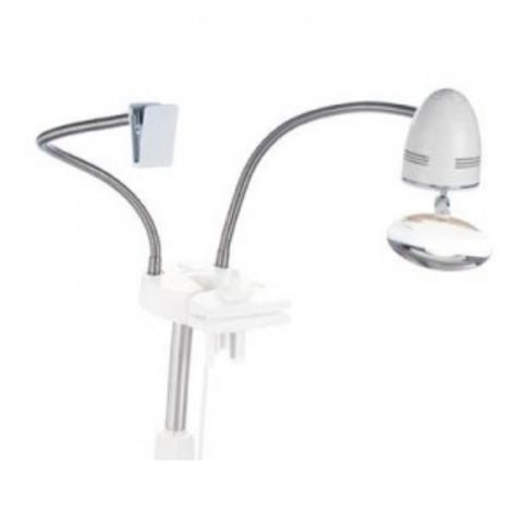 Лампа, Лупа и гибкий держатель для схем к стенду Стичсмарт (StitchSmart)