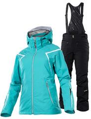 Элитный Горнолыжный костюм 8848 Altitude Titania Turquoise женский