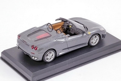 Ferrari F430 Spider gray 1:43 Eaglemoss Ferrari Collection #9