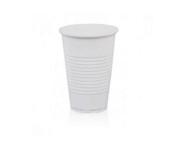 Одноразовый белый стакан 200 мл