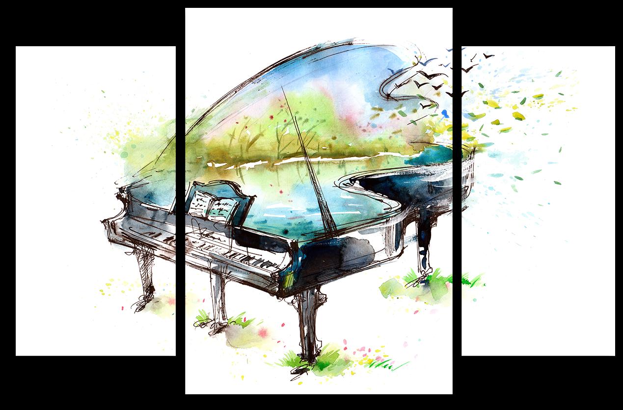 """Абстракция Модульная картина """"Арт рояль"""" М957.png"""
