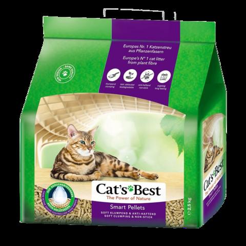 Cat's Best Smart Pellets Наполнитель для туалета кошек древесный комкующийся
