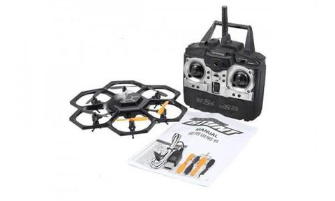 Радиоуправляемый вертолет (гексакоптер) XinXun Black Widow Stunt X45