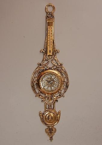 Часы настенные из бронзы (Арт.5405)