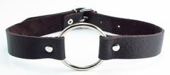 Кляп кольцо коричневый (BDSM арсенал)