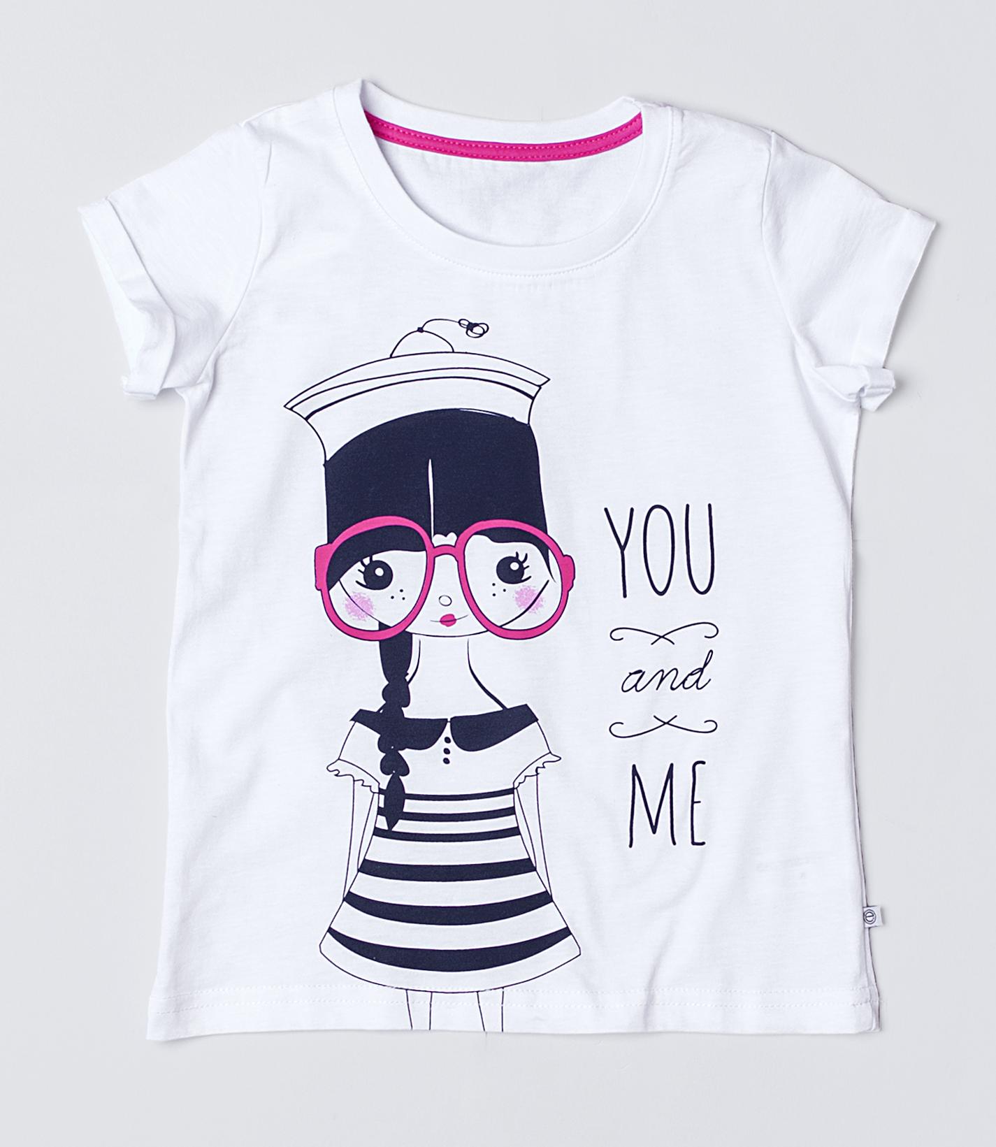 Детская женская футболка E16K-34M101