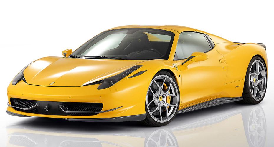 Обвес Novitec для Ferrari 458 Italia