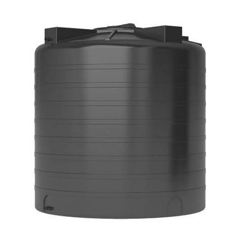 Бак для воды АКВАТЕК ATV 2000 (с поплавком, цвет чёрный)