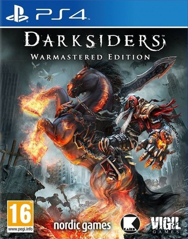 Sony PS4 Darksiders - Warmastered Edition (русские субтитры)